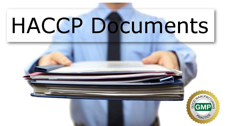 HACCP Documents